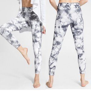 ATHLETA Tie Dye Salutation 7/8 Tights {SS13}